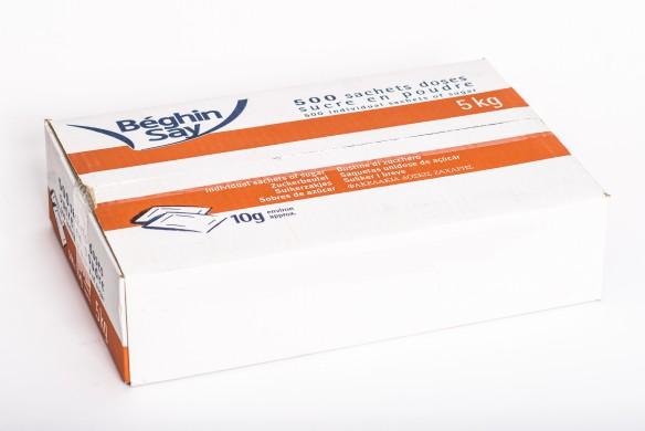 Sucre semoule en stick de 10 gr x500