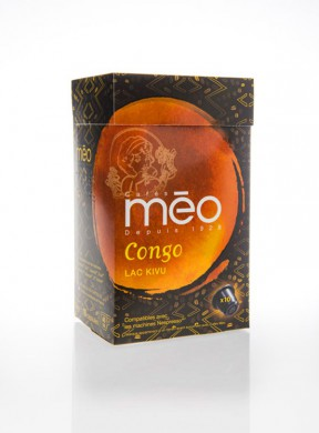 GRAND CRU CONGO LAC KIVU - CAPSULES COMPATIBLES NESPRESSO®* X10