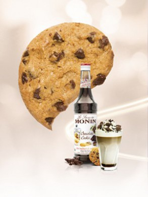 Sirop Monin de Chocolate Cookie - 70 cl
