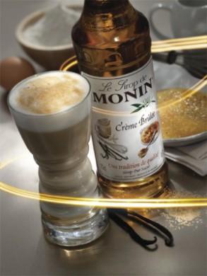 Sirop Monin de Crème Brulée - 70 cl
