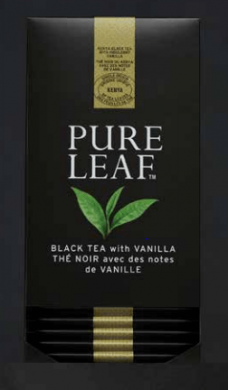 Thé Pure Leaf Noir Vanille x25