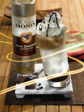 Sauce au Chocolat Noir MONIN - 50 cl