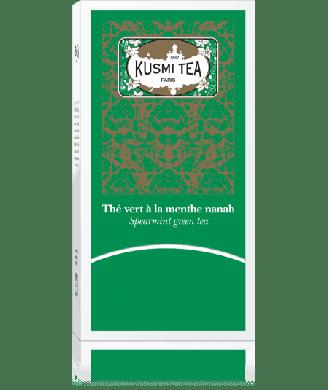 Thé vert Kusmi à la menthe Nanah x25