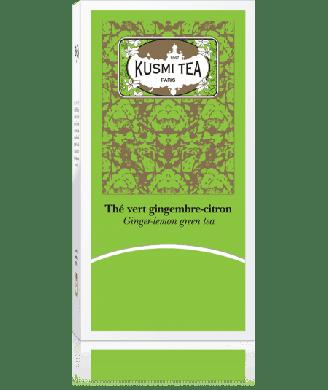 Thé vert Kusmi gingembre-citron x25