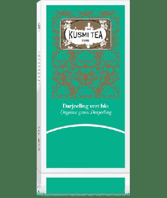 Thé vert Kusmi Darjeeling bio x25