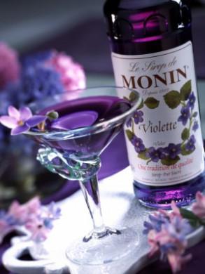 Sirop Monin de Violette - 70 cl